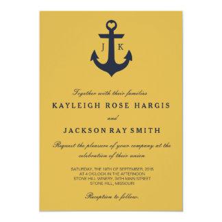 Seehochzeits-Einladungen Wedding   Karte