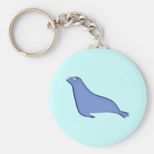 Seehund Robbe seal Schlüsselanhänger