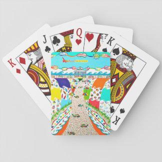 Seeinsel-Stadt, NJ Poker-Karten Spielkarten