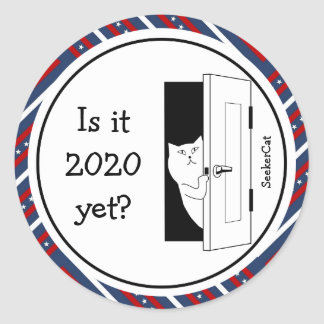 SeekerCat 2020 Runder Aufkleber