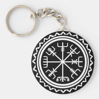 Seekompaß Vikings Vegvisir Schlüsselanhänger