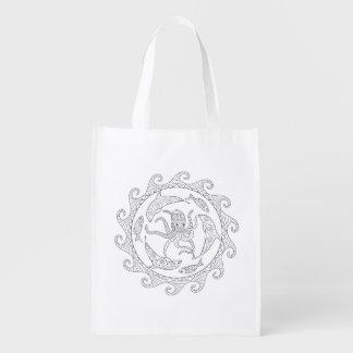 Seeleben-erwachsene Farbton-Tasche Wiederverwendbare Einkaufstasche