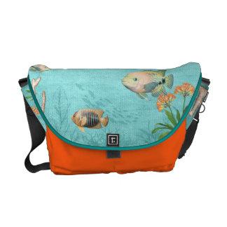 Seeleben-Fischbote-Taschengewohnheit Kurier Tasche