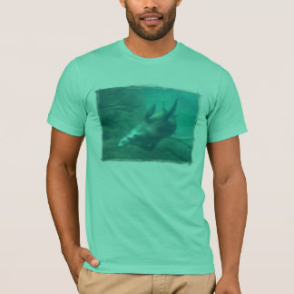 Seelöwe-grundlegender T - Shirt