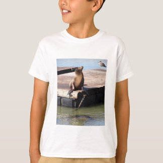 Seelöwe-KinderT - Shirt San Francisco Pier-39