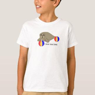 Seelöwe mit Wasserbällen T-Shirt