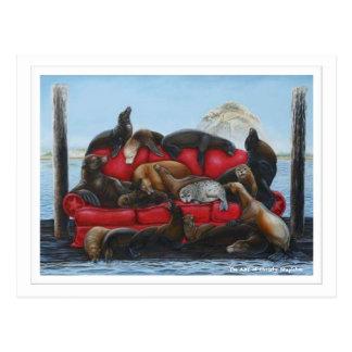 Seelöwe-Ruhe durch TACS Postkarte