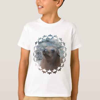 Seelöwe-Stern T-Shirt