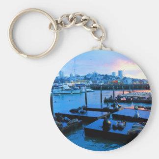 Seelöwen #5 Keychain San Francisco Pier-39 Schlüsselanhänger