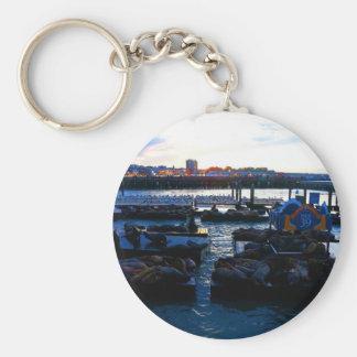 Seelöwen #6 Keychain San Francisco Pier-39 Schlüsselanhänger