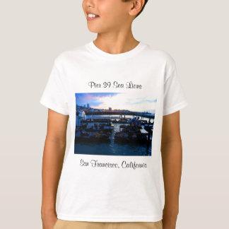 Seelöwen #6 San Francisco Pier-39 scherzt T - T-Shirt
