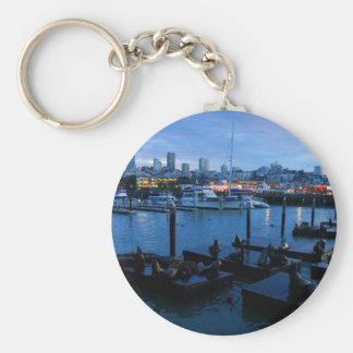 Seelöwen #7 Keychain San Francisco Pier-39 Schlüsselanhänger