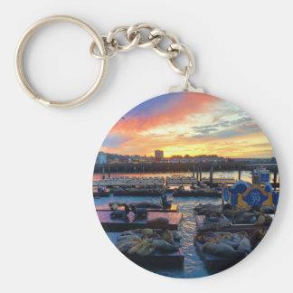 Seelöwen #8 Keychain San Francisco Pier-39 Schlüsselanhänger