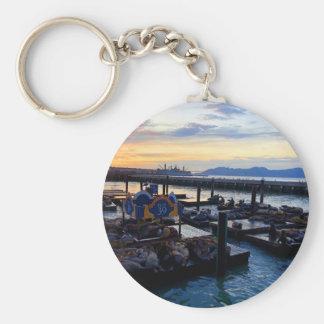 Seelöwen #9 Keychain San Francisco Pier-39 Schlüsselanhänger