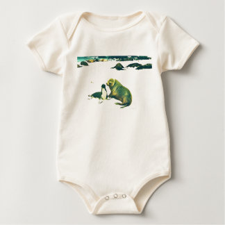 Seelöwen - Mamma, die Welpen küsst Baby Strampler