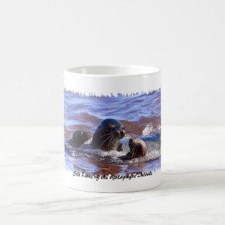 Seelöwen von Galapagosa Kaffeetasse