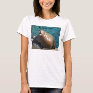 Seelöwen - was ist- nicht zur Liebe? T-Shirt