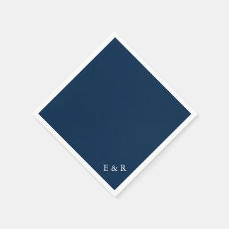 Seemann-Blau - Frühlings-London-Mode-Trends 2018 Papierserviette