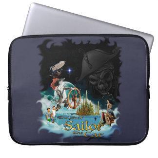 Seemann die Katzen-Laptop-Hülse Laptop Sleeve