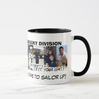 Seemann oben! tasse