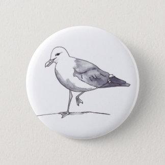 Seemöwe 1 runder button 5,7 cm