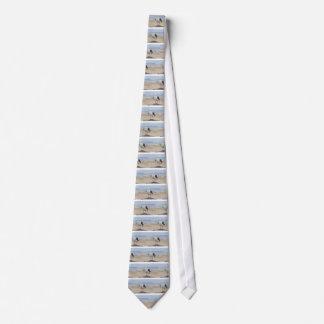 Seemöwe Bedruckte Krawatten