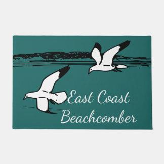 Seemöwe-Strand-Ostküstebeachcomber-Fußmatte Türmatte