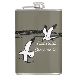 Seemöwe-Strand-OstküsteBeachcomberflasche Flachmann