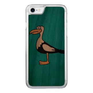 Seemöwe-Tiermotive Carved iPhone 8/7 Hülle