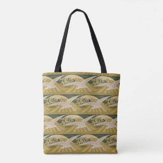 Seemöwe-Vogel-Strand-Ozean-Seemöwe-Vogel-Meergrün Tasche