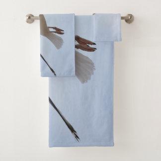Seemöwefliegen Badhandtuch Set