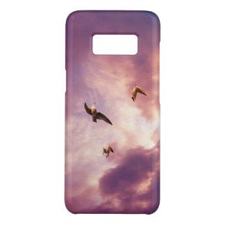 Seemöwen, die in einen Sonnenunterganghimmel Case-Mate Samsung Galaxy S8 Hülle