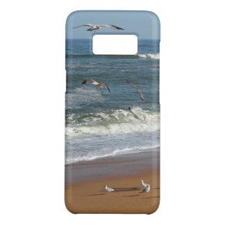 Seemöwen, die über den Wellen rollen auf einen Case-Mate Samsung Galaxy S8 Hülle