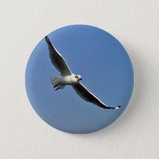 Seemöwen sind schöne Vögel Runder Button 5,1 Cm