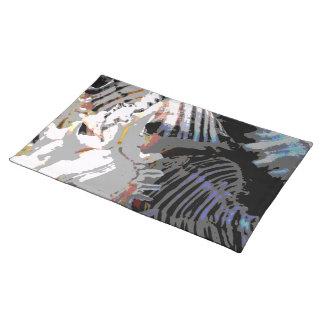 SeeMuschel abstrakt Tischset