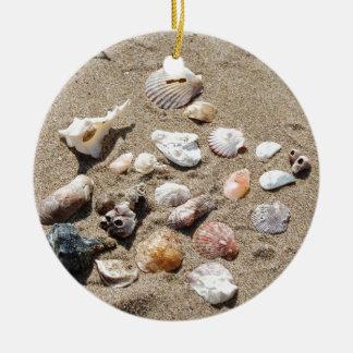 Seeoberteile Rundes Keramik Ornament