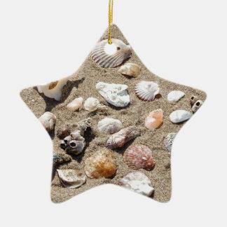 Seeoberteile Keramik Stern-Ornament