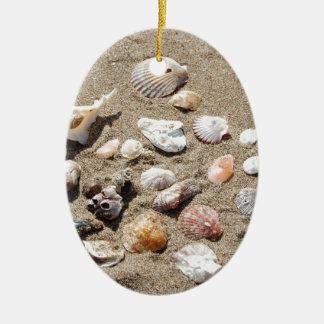 Seeoberteile Ovales Keramik Ornament
