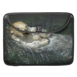 - Seeotter weg treiben Sleeve Für MacBooks