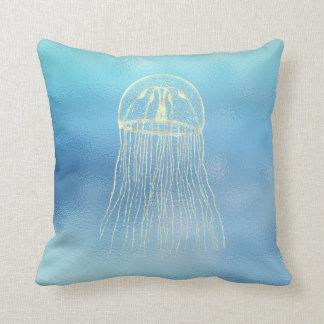 Seeozean-Blau-Aqua Ombre Tiffany Goldquallen Kissen