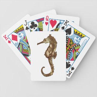 Seepferd 3 bicycle spielkarten