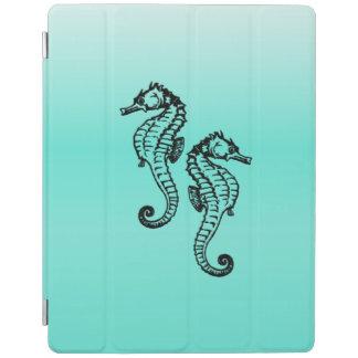 Seepferd-Aqua iPad Hülle