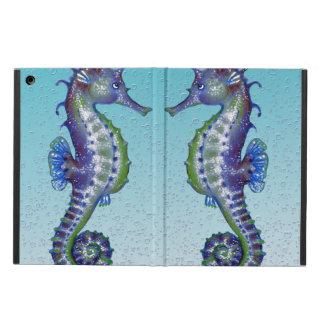 Seepferd-aquamarine Wasser-Tropfen