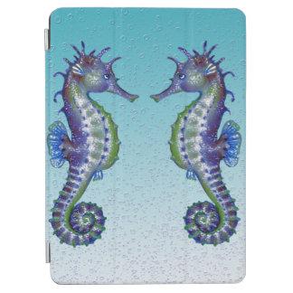 Seepferd-aquamarine Wasser-Tropfen iPad Air Hülle