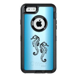 Seepferd-Blau OtterBox iPhone 6/6s Hülle