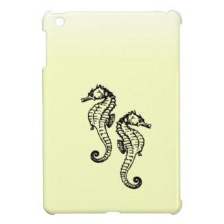 Seepferd-Gelb iPad Mini Hülle