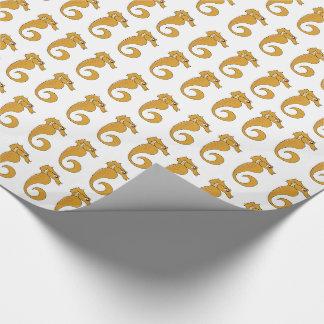 """Seepferd - glattes Verpackungs-Papier, 30"""" x 15' Geschenkpapier"""