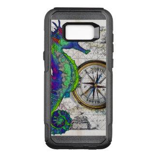 Seepferd-Kompass OtterBox Commuter Samsung Galaxy S8+ Hülle