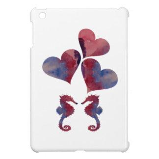 Seepferd-Kunst iPad Mini Hülle
