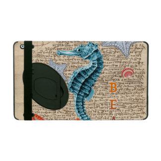 Seepferd schäbig iPad hülle